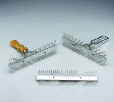 Cattle Comb, Blades, Franklin Fluff & Groom 9""