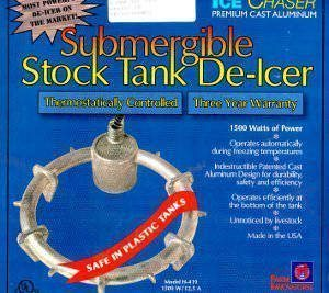 De-Icer, Submergible Stock Tank