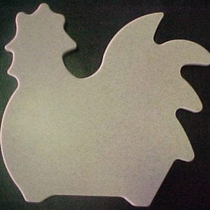 Cutting Board, Rooster