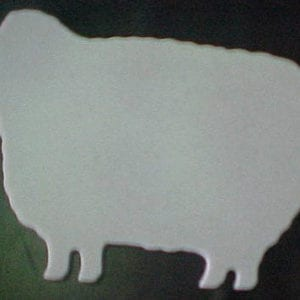 Cutting Board, Woolie Sheep