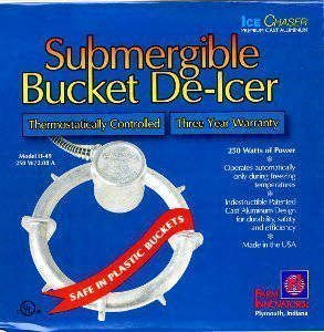 De-Icer, Submergible Bucket