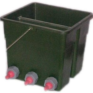 6 Position Rubber Bucket Feeder