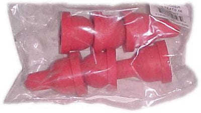 Bucket Feeder, 6 Position Rubber, Nipples