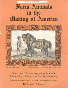 Farm Animals in the Making of America