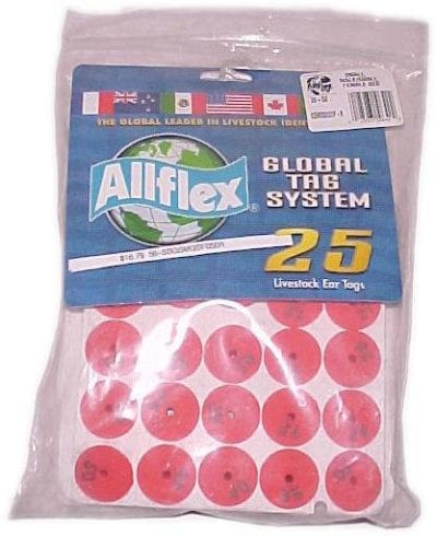 Tags, Allflex Button Ear