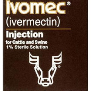 Ivomec Injectable Cattle/Swine Dewormer