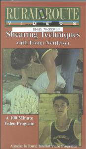 Shearing Techniques with Fiona Nettleton, DVD