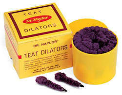 Teat Dilators