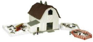Scale Model, Dairy Barn Set